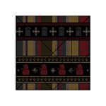 Tardis Doctor Who Ugly Holiday Acrylic Tangram Puzzle (4  x 4 )