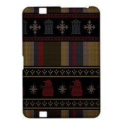 Tardis Doctor Who Ugly Holiday Kindle Fire Hd 8 9  by Onesevenart