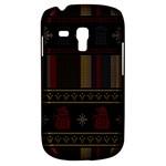 Tardis Doctor Who Ugly Holiday Samsung Galaxy S3 MINI I8190 Hardshell Case
