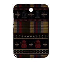 Tardis Doctor Who Ugly Holiday Samsung Galaxy Note 8 0 N5100 Hardshell Case  by Onesevenart