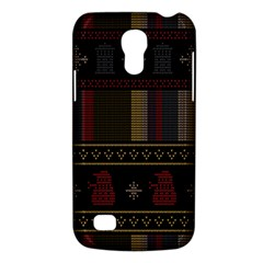 Tardis Doctor Who Ugly Holiday Galaxy S4 Mini by Onesevenart