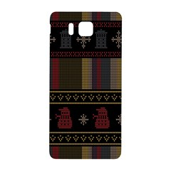 Tardis Doctor Who Ugly Holiday Samsung Galaxy Alpha Hardshell Back Case by Onesevenart