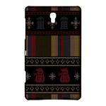 Tardis Doctor Who Ugly Holiday Samsung Galaxy Tab S (8.4 ) Hardshell Case