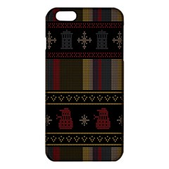 Tardis Doctor Who Ugly Holiday Iphone 6 Plus/6s Plus Tpu Case by Onesevenart