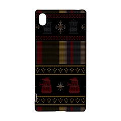 Tardis Doctor Who Ugly Holiday Sony Xperia Z3+ by Onesevenart