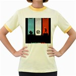 Twenty One 21 Pilots Women s Fitted Ringer T-Shirts