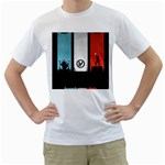 Twenty One 21 Pilots Men s T-Shirt (White) (Two Sided)