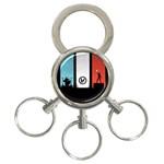 Twenty One 21 Pilots 3-Ring Key Chains