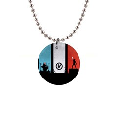 Twenty One 21 Pilots Button Necklaces by Onesevenart