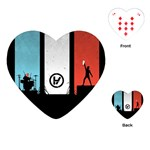 Twenty One 21 Pilots Playing Cards (Heart)