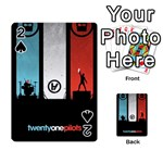 Twenty One 21 Pilots Playing Cards 54 Designs