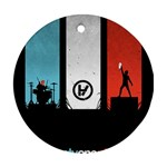 Twenty One 21 Pilots Round Ornament (Two Sides)