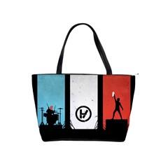 Twenty One 21 Pilots Shoulder Handbags by Onesevenart