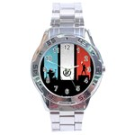 Twenty One 21 Pilots Stainless Steel Analogue Watch