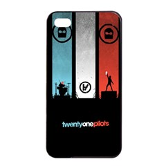 Twenty One 21 Pilots Apple Iphone 4/4s Seamless Case (black) by Onesevenart