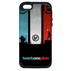 Twenty One 21 Pilots Apple Iphone 5 Hardshell Case (pc+silicone) by Onesevenart