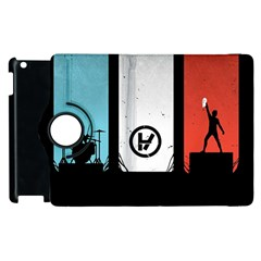 Twenty One 21 Pilots Apple Ipad 2 Flip 360 Case by Onesevenart