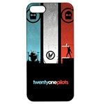 Twenty One 21 Pilots Apple iPhone 5 Hardshell Case with Stand
