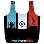 Twenty One 21 Pilots Full Print Recycle Bags (L)