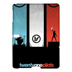 Twenty One 21 Pilots Samsung Galaxy Tab S (10 5 ) Hardshell Case  by Onesevenart