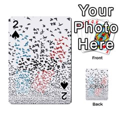 Twenty One Pilots Birds Playing Cards 54 Designs  by Onesevenart