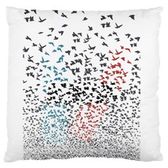 Twenty One Pilots Birds Standard Flano Cushion Case (one Side) by Onesevenart