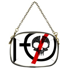Twenty One Pilots Skull Chain Purses (two Sides)  by Onesevenart
