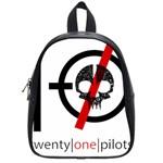 Twenty One Pilots Skull School Bags (Small)