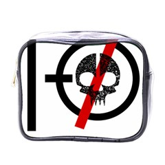 Twenty One Pilots Skull Mini Toiletries Bags by Onesevenart
