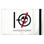 Twenty One Pilots Skull Apple iPad 3/4 Flip Case
