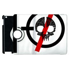 Twenty One Pilots Skull Apple Ipad 2 Flip 360 Case by Onesevenart