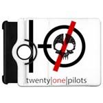Twenty One Pilots Skull Kindle Fire HD Flip 360 Case