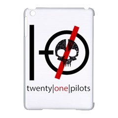 Twenty One Pilots Skull Apple Ipad Mini Hardshell Case (compatible With Smart Cover) by Onesevenart