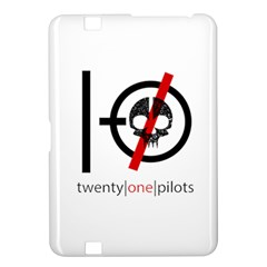 Twenty One Pilots Skull Kindle Fire Hd 8 9  by Onesevenart