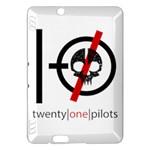 Twenty One Pilots Skull Kindle Fire HDX Hardshell Case