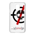 Twenty One Pilots Skull Samsung Galaxy S5 Case (White)