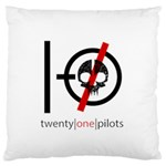 Twenty One Pilots Skull Standard Flano Cushion Case (Two Sides)