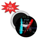 Twenty One Pilots Stay Alive Song Lyrics Quotes 1.75  Magnets (10 pack)