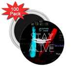 Twenty One Pilots Stay Alive Song Lyrics Quotes 2.25  Magnets (100 pack)