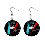Twenty One Pilots Stay Alive Song Lyrics Quotes Mini Button Earrings