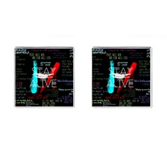 Twenty One Pilots Stay Alive Song Lyrics Quotes Cufflinks (square) by Onesevenart