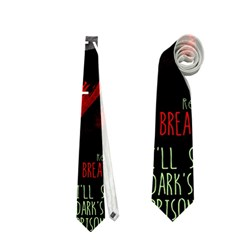 Twenty One Pilots Stay Alive Song Lyrics Quotes Neckties (one Side)  by Onesevenart