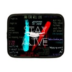 Twenty One Pilots Stay Alive Song Lyrics Quotes Netbook Case (Small)