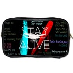Twenty One Pilots Stay Alive Song Lyrics Quotes Toiletries Bags