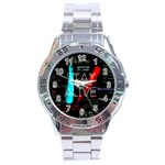 Twenty One Pilots Stay Alive Song Lyrics Quotes Stainless Steel Analogue Watch