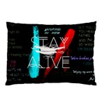 Twenty One Pilots Stay Alive Song Lyrics Quotes Pillow Case (Two Sides)