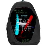 Twenty One Pilots Stay Alive Song Lyrics Quotes Backpack Bag