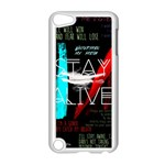 Twenty One Pilots Stay Alive Song Lyrics Quotes Apple iPod Touch 5 Case (White)