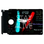 Twenty One Pilots Stay Alive Song Lyrics Quotes Apple iPad 2 Flip 360 Case