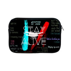 Twenty One Pilots Stay Alive Song Lyrics Quotes Apple Ipad Mini Zipper Cases by Onesevenart